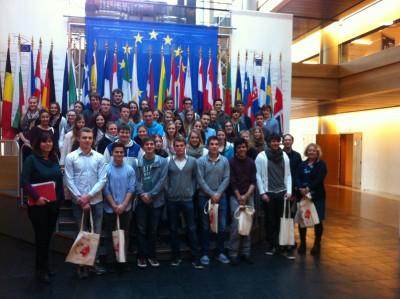 Zu Besuch im Europaparlament